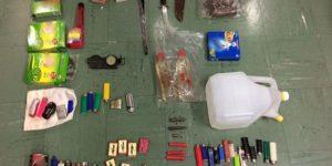 ΕΥΡΗΜΑΤΑ ΣΟΚ στην κατοχή του συλληφθέντα για εμπρησμούς στην ΠΑΡΝΗΘΑ (ΦΩΤΟΓΡΑΦΙΕΣ)