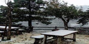 Τα πρώτα χιόνια στην Πάρνηθα