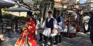 Με θρησκευτική κατάνυξη ο εορτασμός του Αγίου Βλασίου, Πολιούχου των Αχαρνών