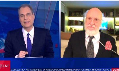 Σαββόπουλος για Τσιόδρα: «Η πολιτική έβαλε μπροστά τη γνώση. Ποτέ οι Έλληνες δεν ήμασταν πιο μαζί»
