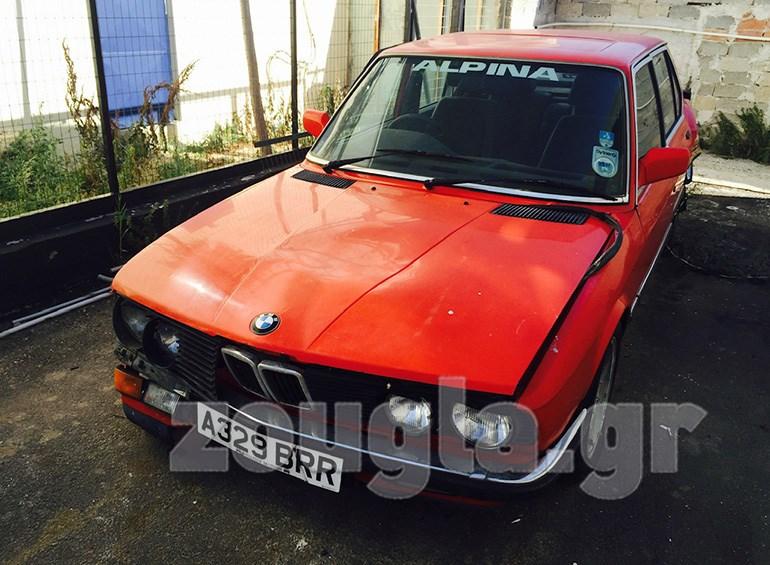 Αυτή την BMW Alpina B9s E28 του 1983 έκλεψαν πριν από λίγες εβδομάδες...